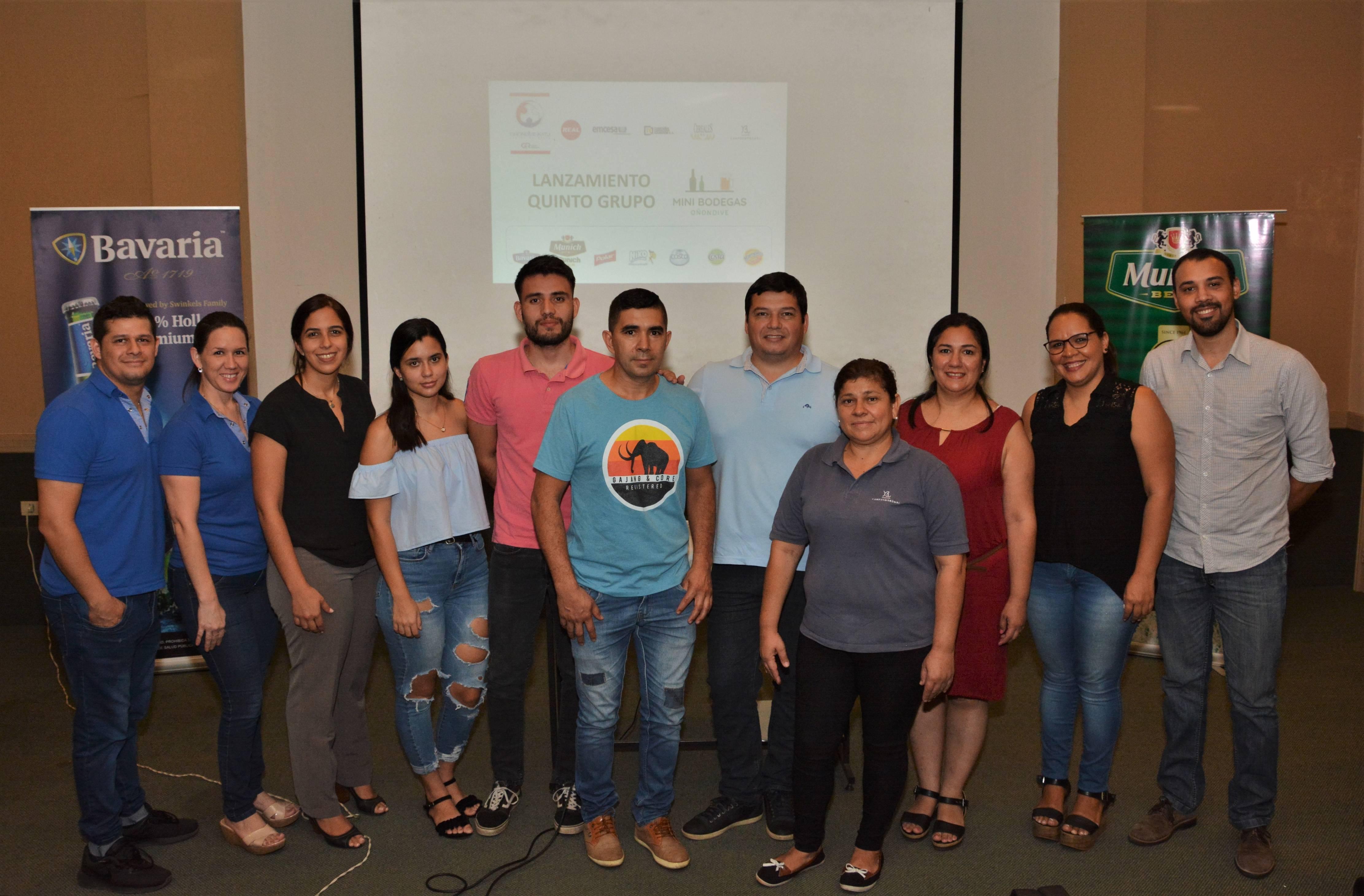 Más familias se suman al programa de Mini Bodegas en Asunción e Itapúa