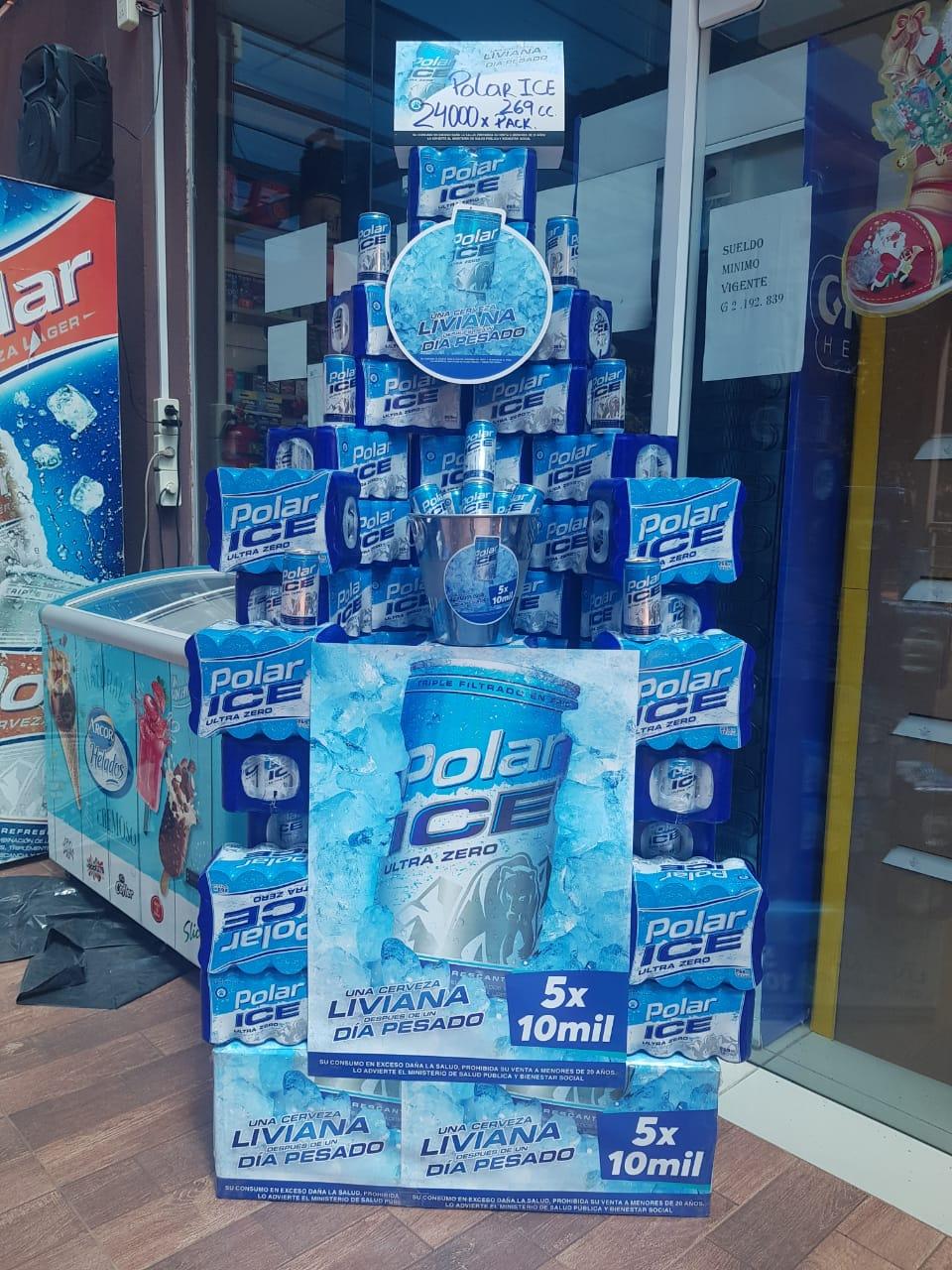 POLAR ICE: Más liviana, más refrescante y con menos calorías para vos