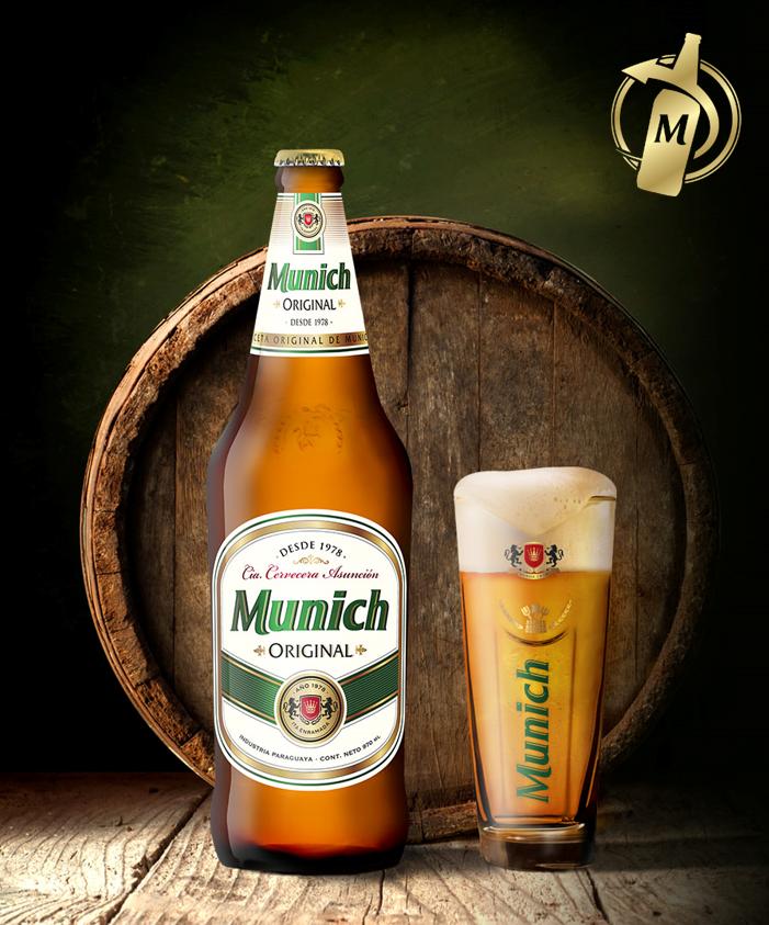 Con un sabor más marcado y clásico llega la Munich Original en Capital y área Metropolitana