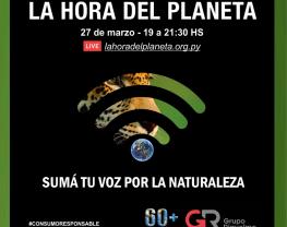 Nos sumamos a La Hora del Planeta 2021